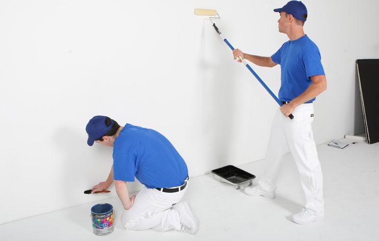 kết quả hình ảnh thợ sơn nhà