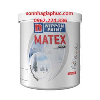 Sơn Nippon MATEX SUPER WHITE (4,8kg)